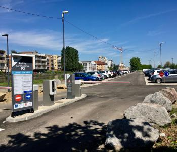 Parking Gare Centrale P2 - Mulhouse